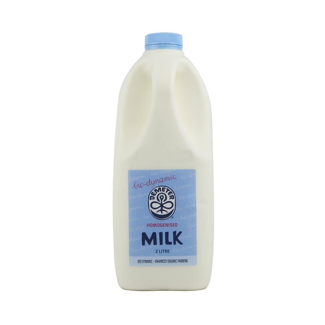 Organic Milk (BD) Homogenised 2L (6ea/box)