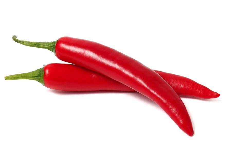 Organic Chillies Cayene Long Red (100g)