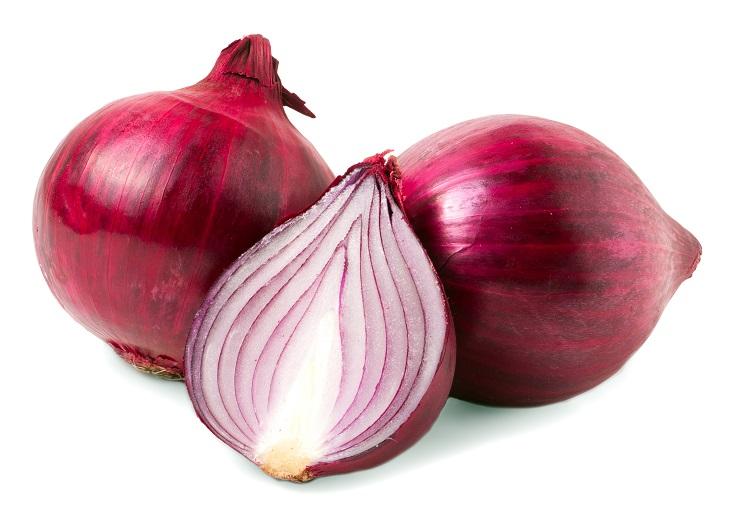 Organic Onions Red Loose (10kg/bag)