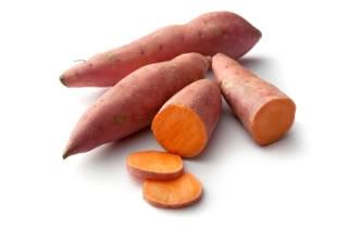 Organic Sweet Potato Gold Small 1kg Bag