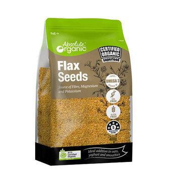 Absolute Organic Seeds Flax 400g