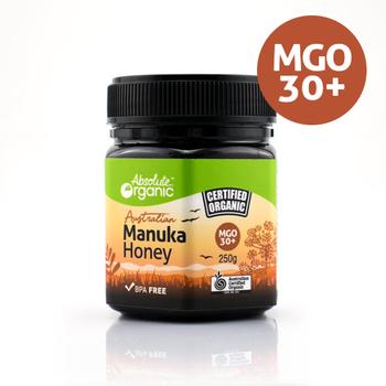 Absolute Organic Honey Manuka Tub 250g