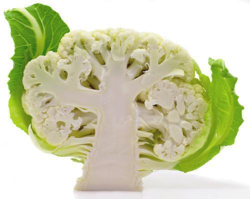 Organic Cauliflower Half (each)