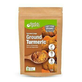 Absolute Organic Tumeric Ground 150g