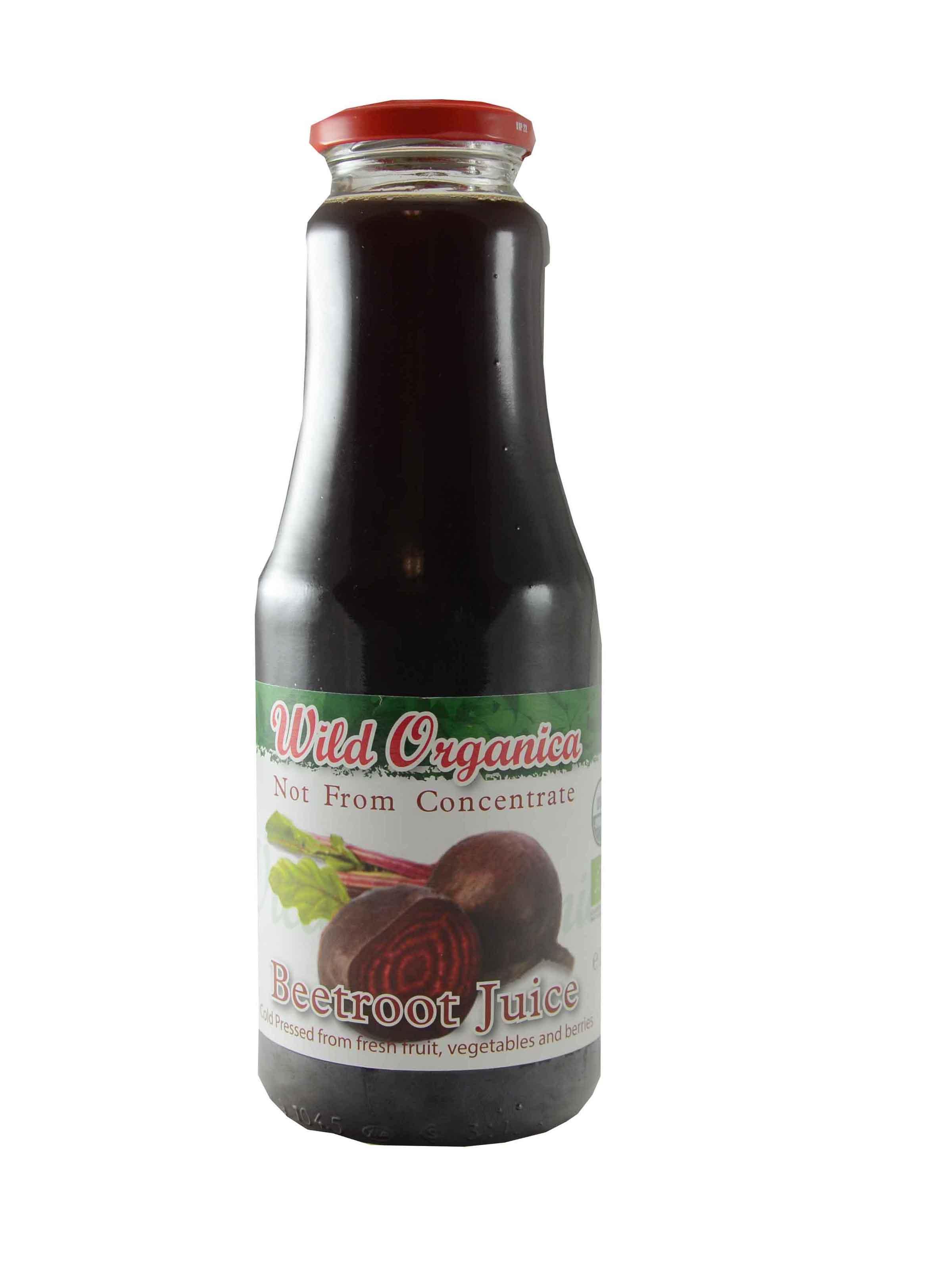 Wild Organica Juice Beetroot 1L
