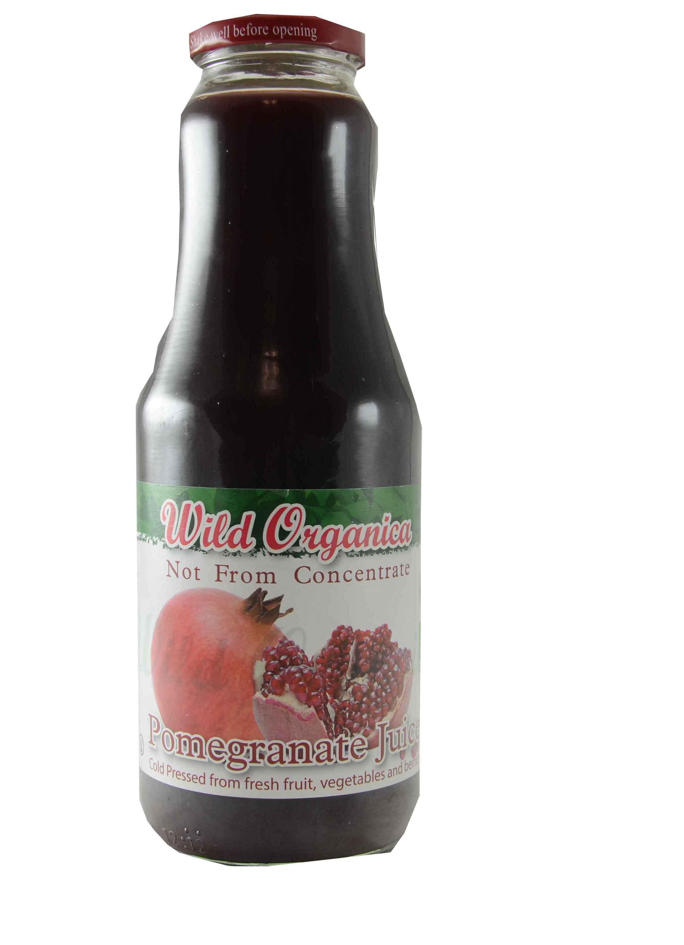 Wild Organica Juice Pomegranate 1L