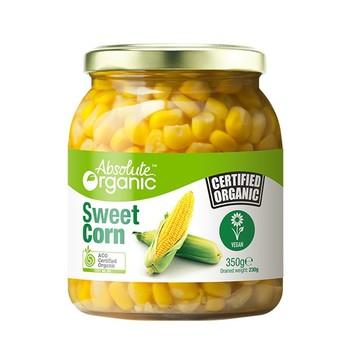 Absolute Organic Corn Sweet (350g)
