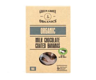 Green Grove Milk Chocolate Bananas 180g