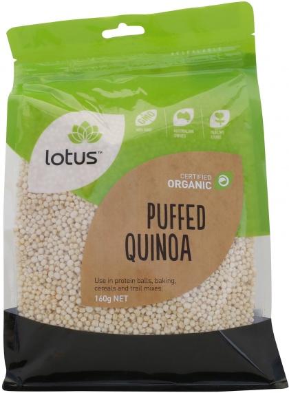 Lotus Puffed Quinoa 160g
