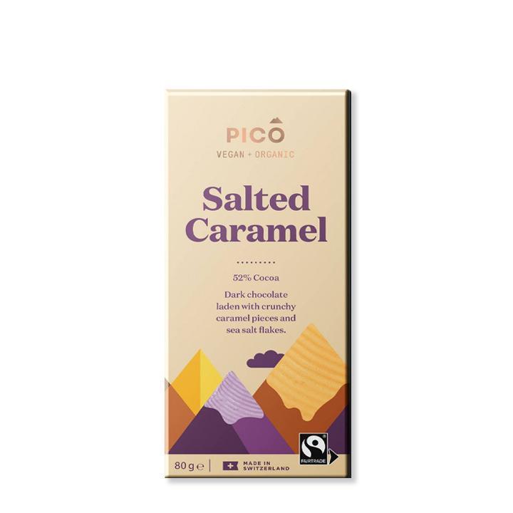Pico Organic Chocolate Salted Caramel 80g