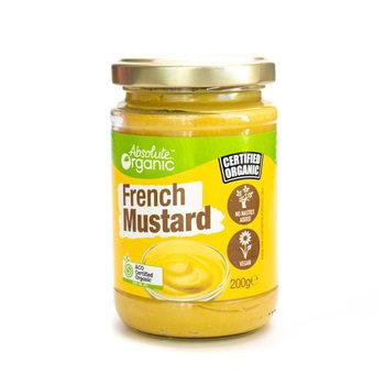 Absolute Organic Mustard French 200g