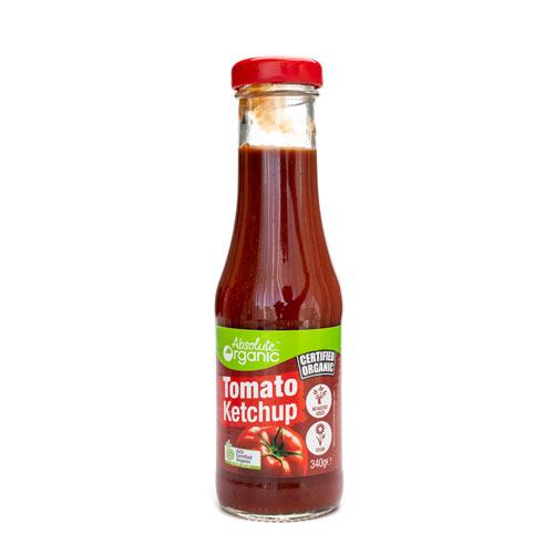Absolute Organic Sauce Tomato Ketchup 340g