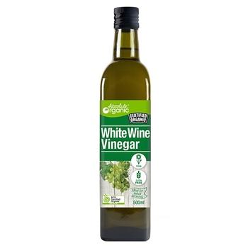 Absolute Organic Vinegar White Wine 500ml
