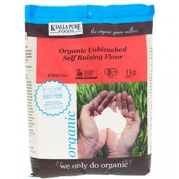 Kialla Pure Foods Flour Unbleached Self Raising 1kg