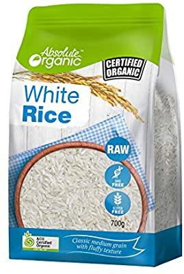 Absolute Organic Rice White 700g