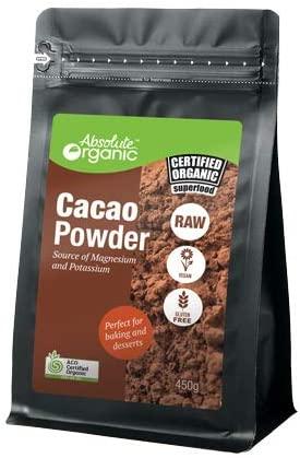 Absolute Organic Cacao Powder 450g