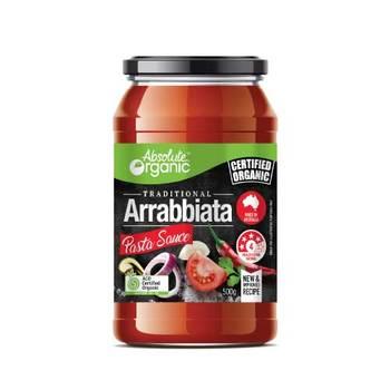 Absolute Organic Pasta Sauce Arrabbiata 500g