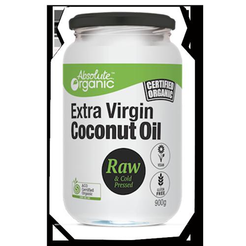 Absolute Organic Oil Coconut Extra Virgin 900g