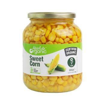 Absolute Organic Corn Sweet 680g