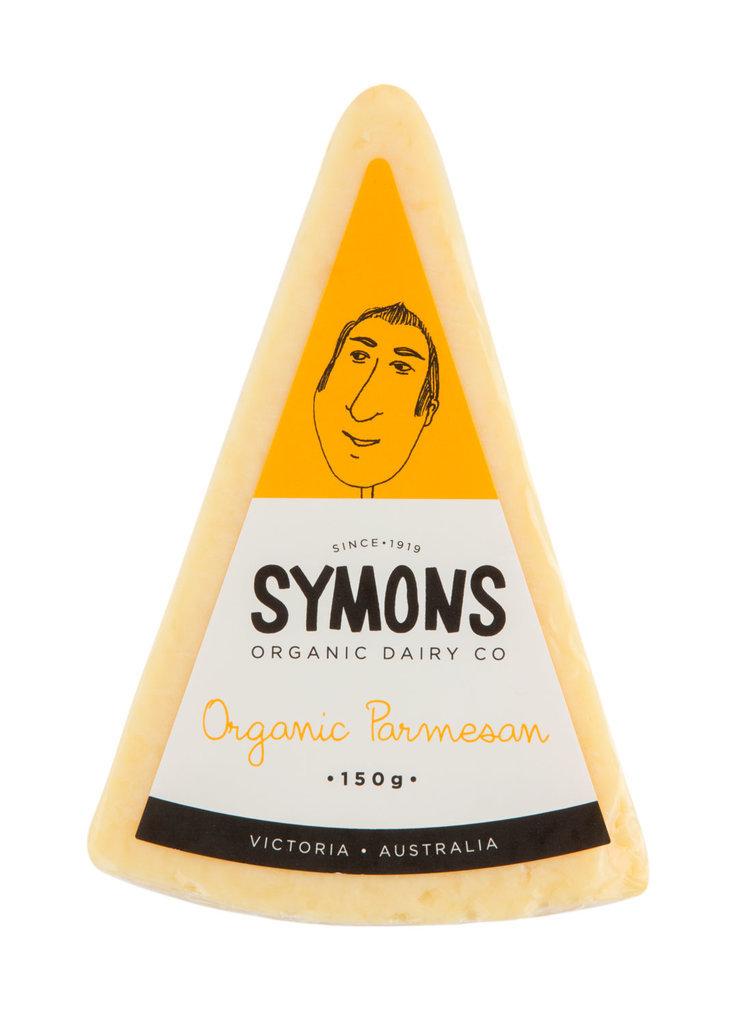 Symons Organic Cheese Parmesan 150g